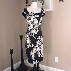 White House Black Market Kimono Style Dress